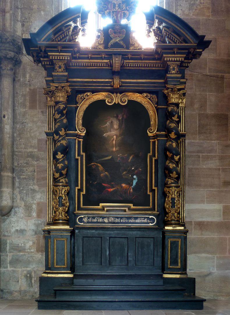 Muffel-Altar Altar-Ädikula