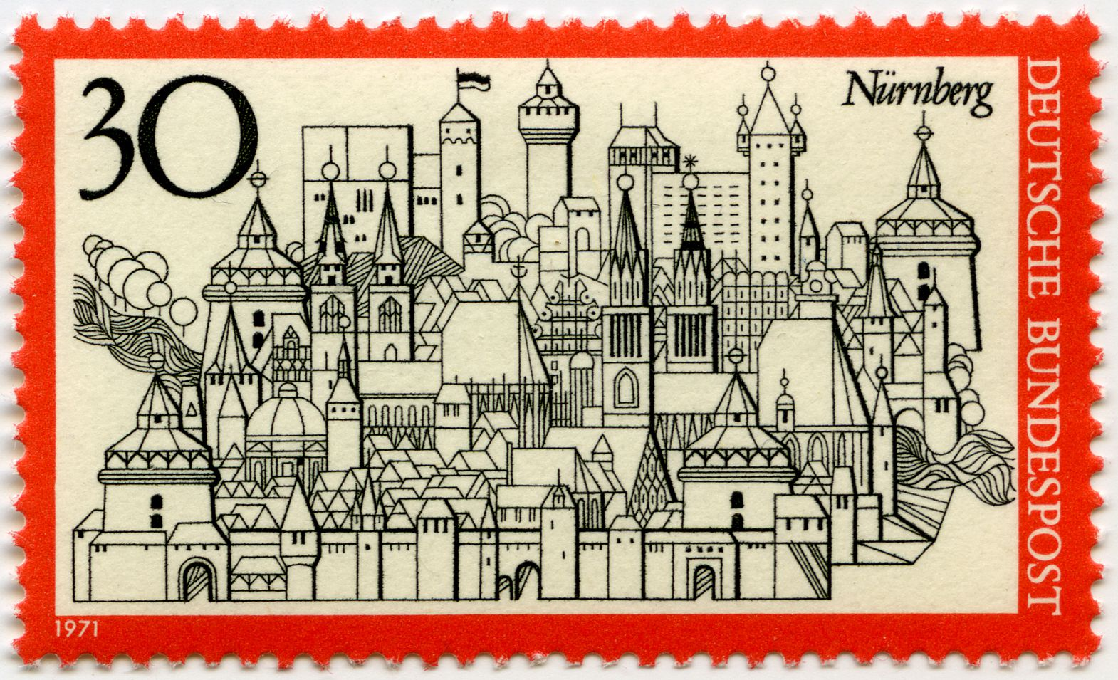 Nürnberg Gesamtansicht