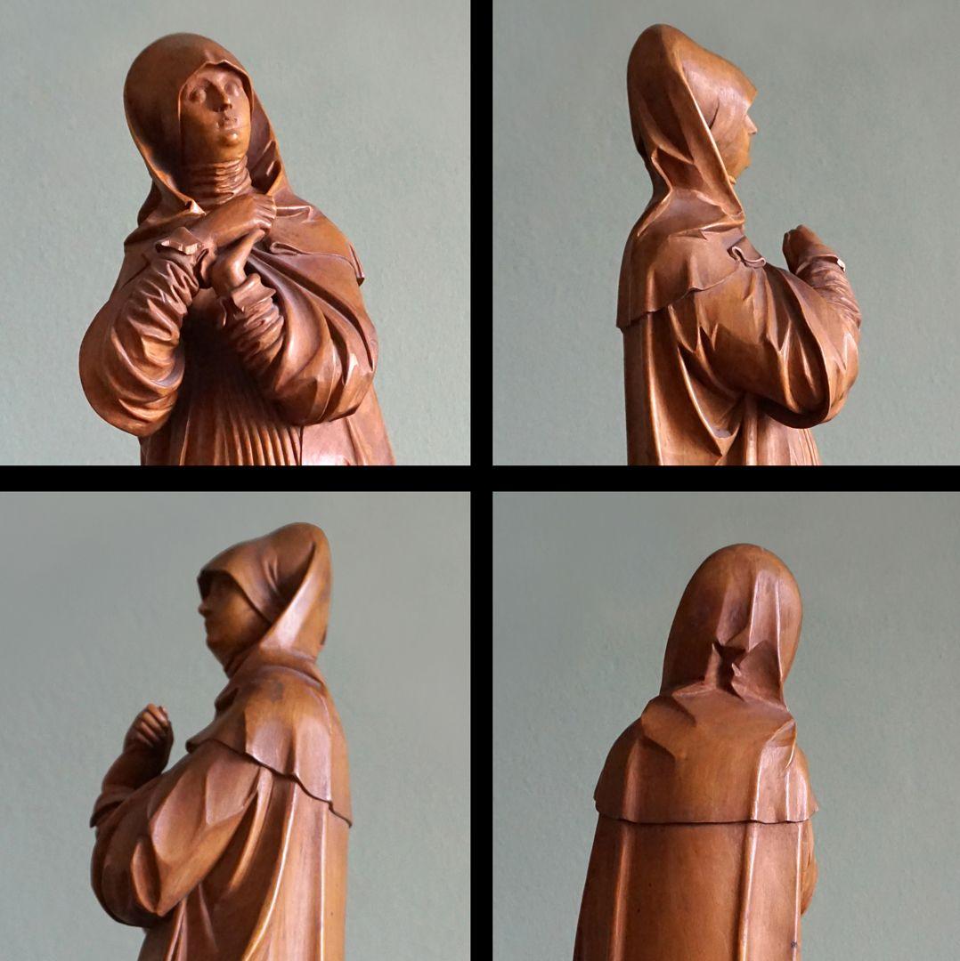 sog. Nürnberger Madonna Ansichten vom Oberkörper
