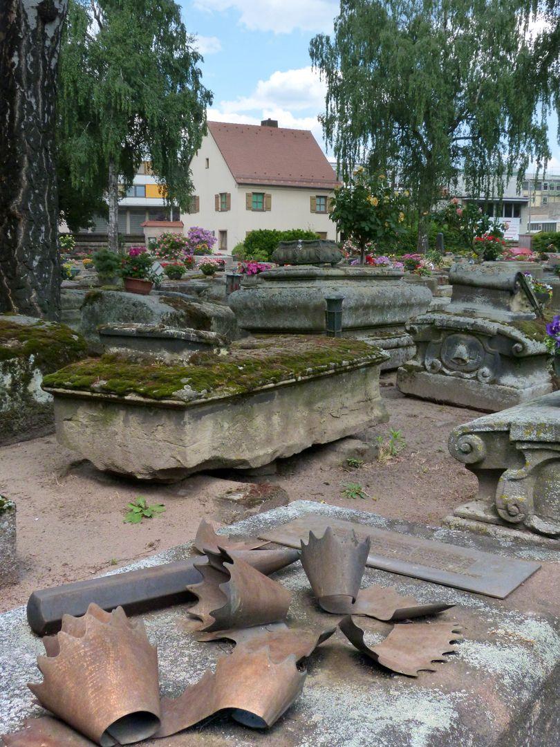 Friedrich Staedler Grabstätte Lage im Gräberfeld