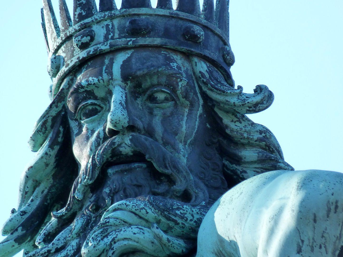 Neptunbrunnen Neptun, Gesicht