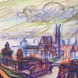 Abstraktionsversuch zum Nürnberger Panorama