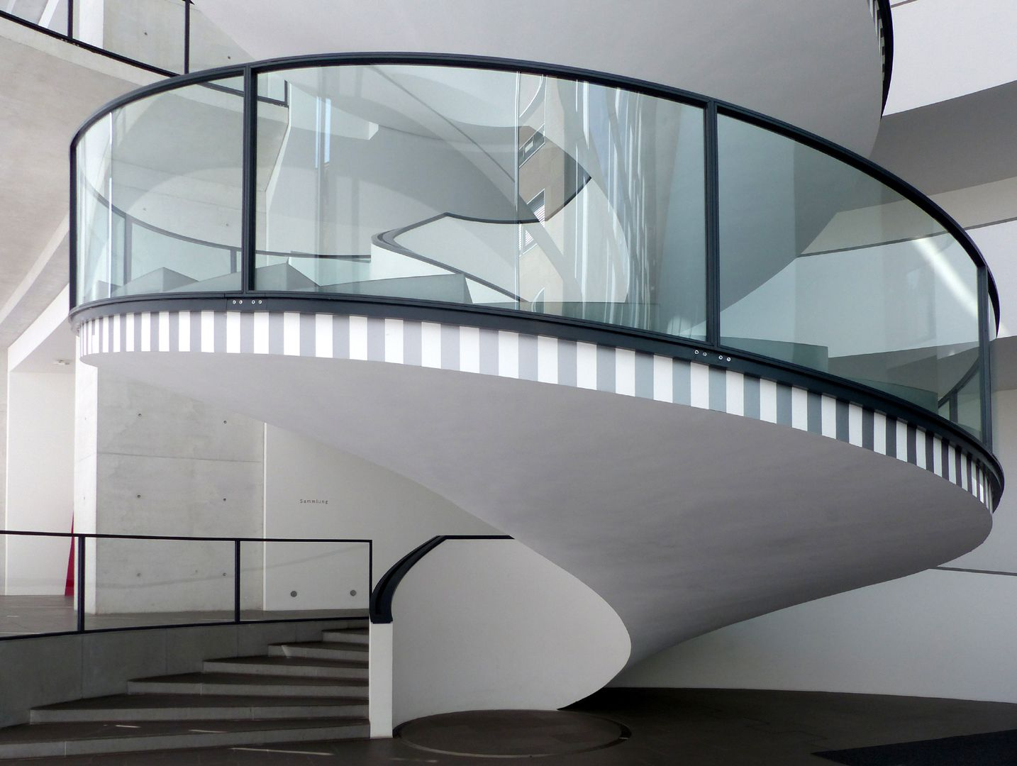 Neues Museum Spiraltreppe