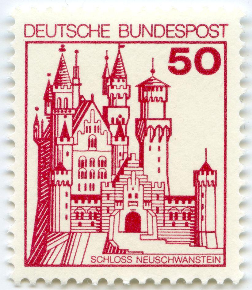 Schloss Neuschwanstein Gesamtansicht