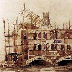 Wiederaufbau des Heilig-Geist-Spitals