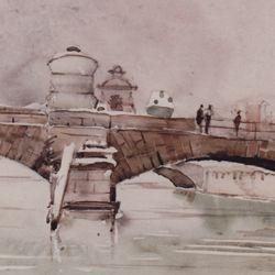 Museumsbrücke vom Heilig-Geist-Spital aus gesehen