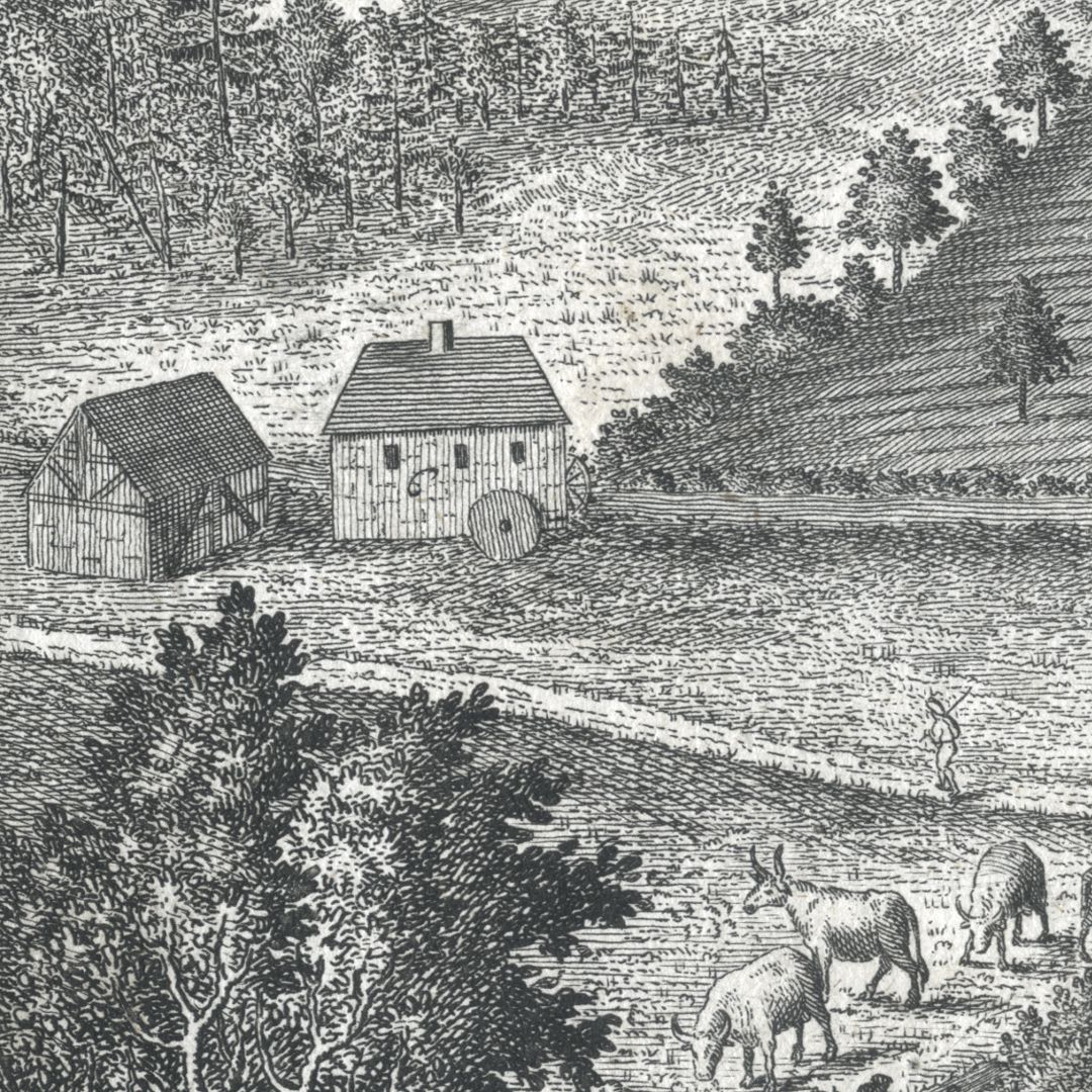 Grieß=Hoff Bildausschnitt mit Leits-Mühle
