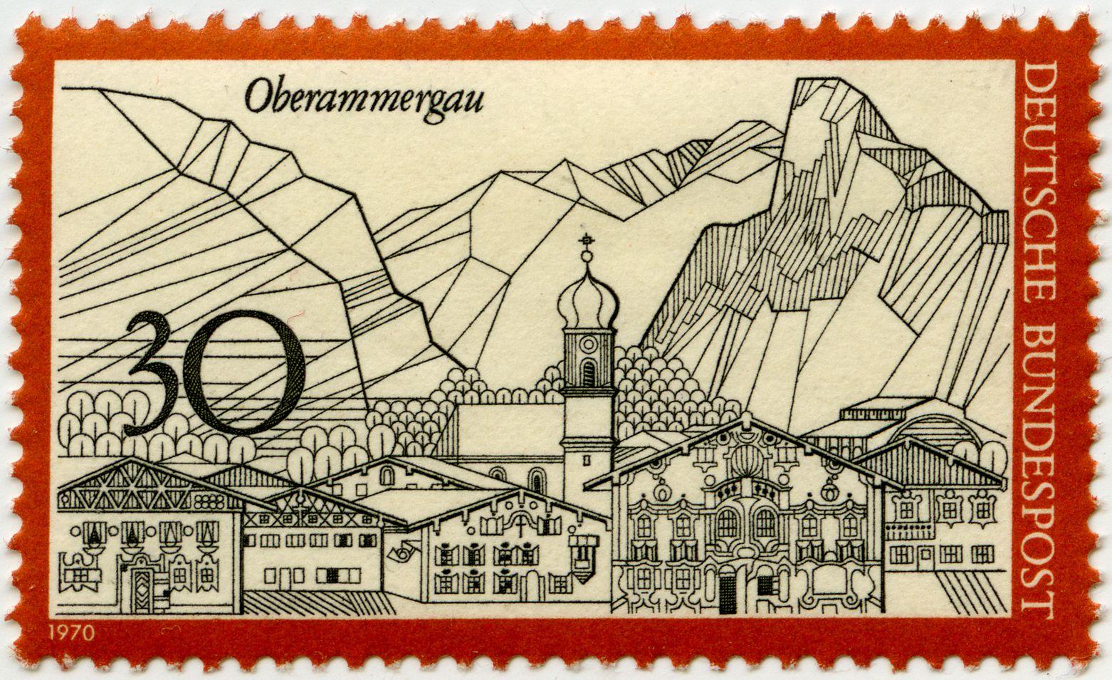 Oberammergau Gesamtansicht