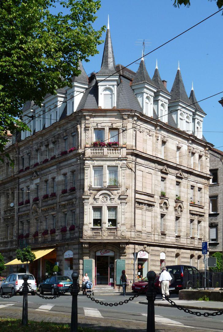 Wohnhaus, Rohledererstraße 1 Gesamtansicht