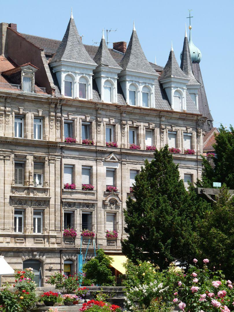Wohnhaus, Rohledererstraße 1 Südfassade