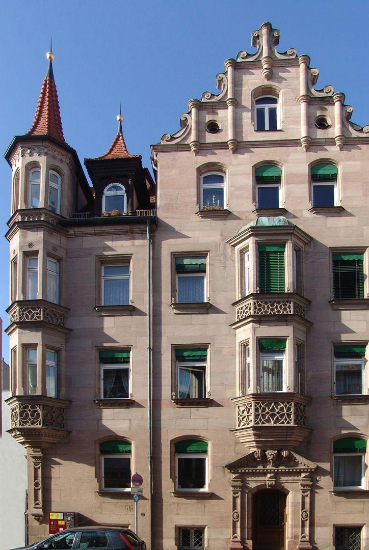 Wohnhaus, Penzstraße 15 Ostfassade