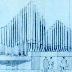 Orgelprospekt in der Meistersingerhalle Nürnberg