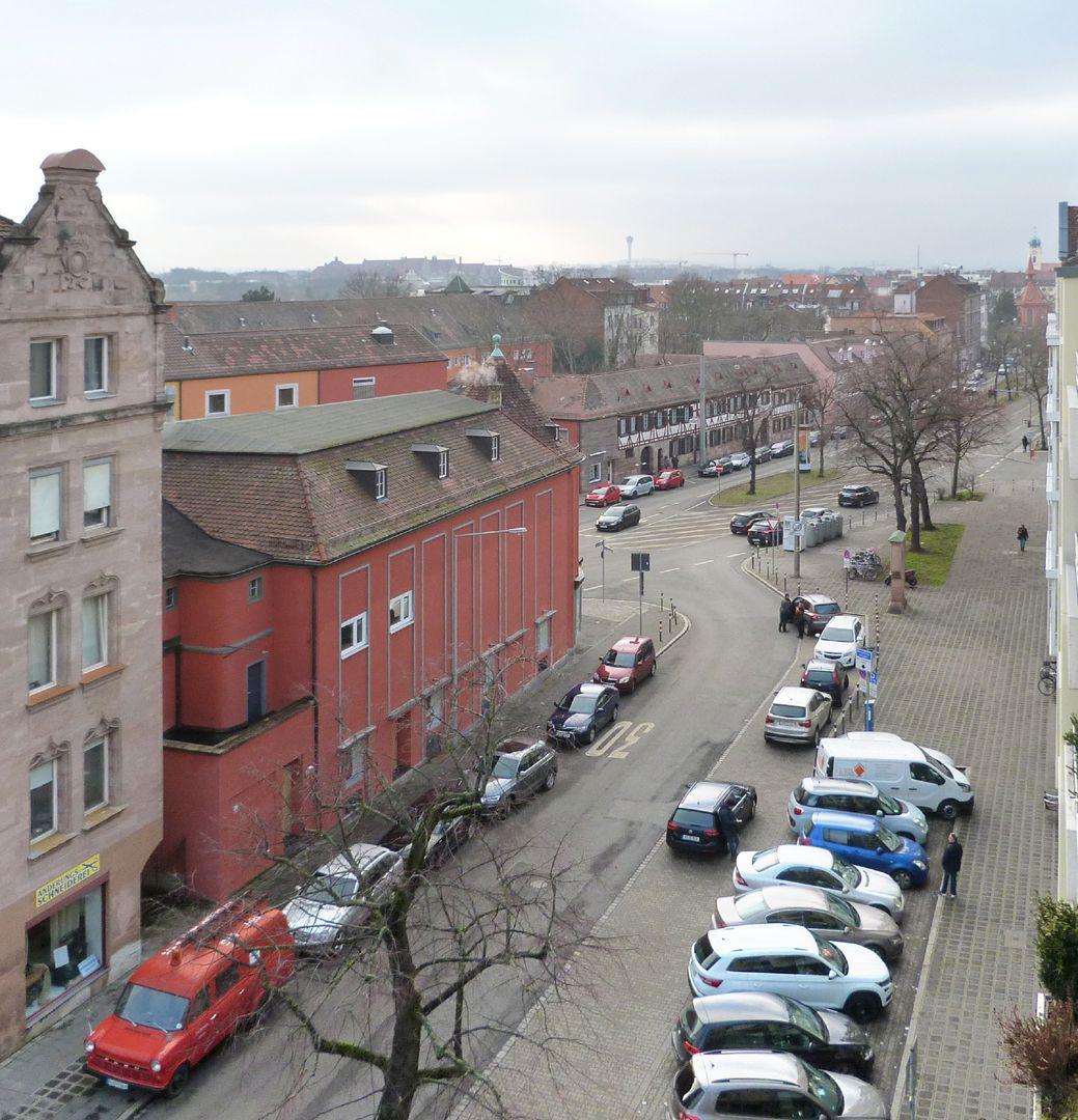 Orpheum Ansicht aus der Burgschmietstraße