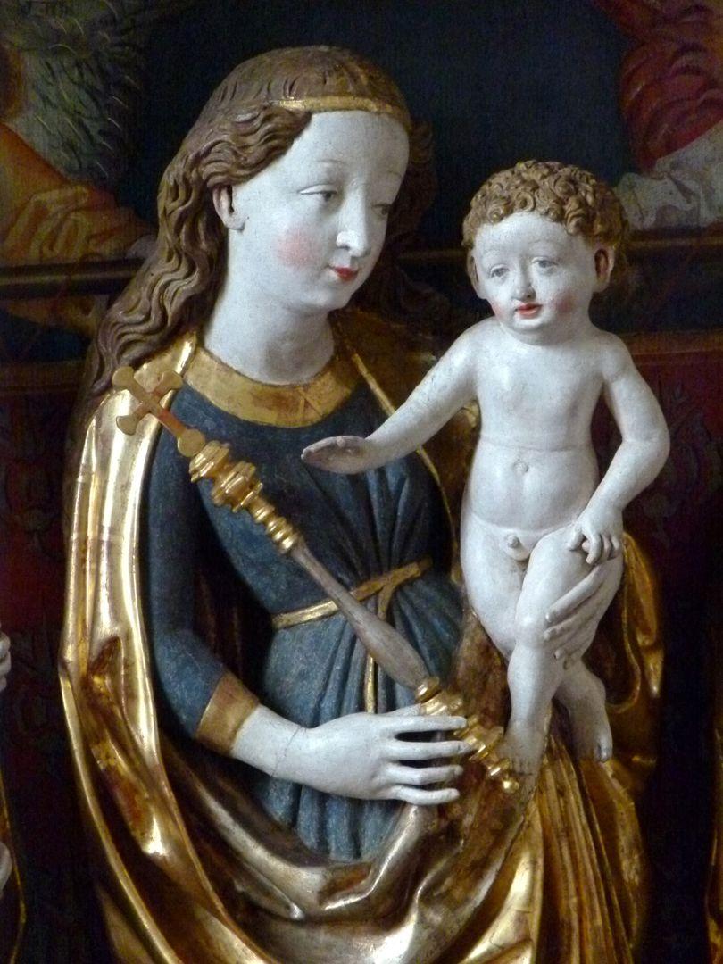 Osternoher Altar Maria mit dem Kind