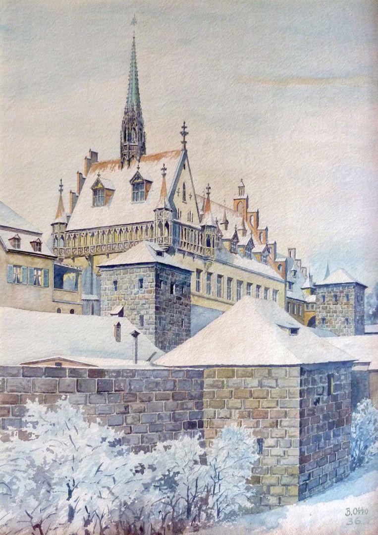 Südwestbau des Germanisches National Museum Gesamtansicht