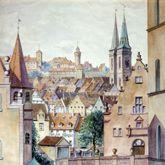 Blick von der Unteren Wörthstraße