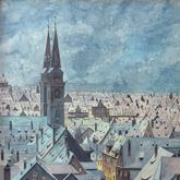 Winterblick auf die Sebalder Altstadt