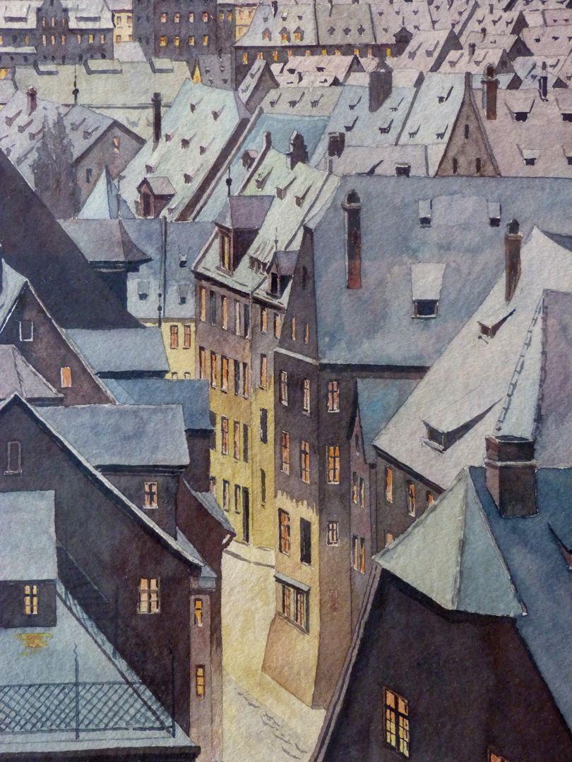 Winterblick auf die Sebalder Altstadt Näheres Detail