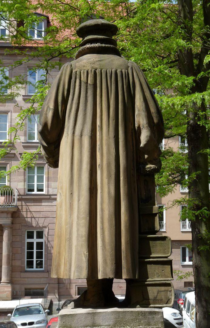 Philipp Melanchthon Denkmal Rückansicht