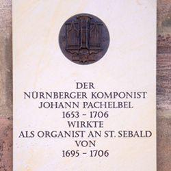 Pachelbel-Gedenktafel