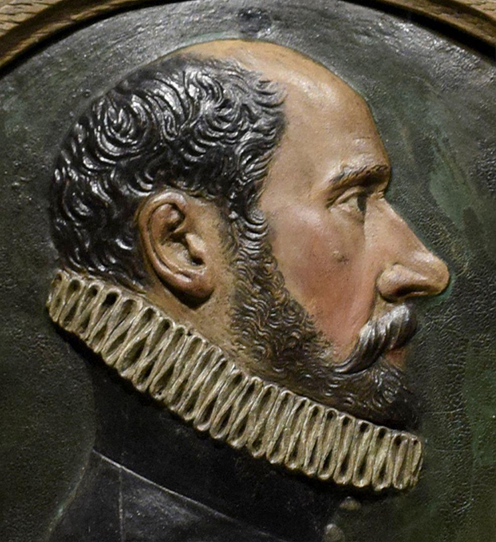 Portrait des Paulus II. Praun (1548-1616) Kopf