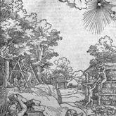 Der erste Hüttenbau