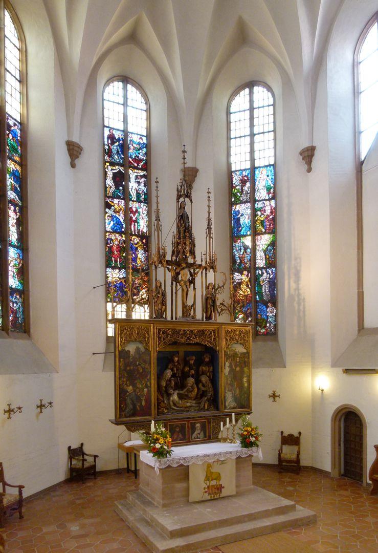 Peringsdörfer Altar Retabel im Kirchenchor