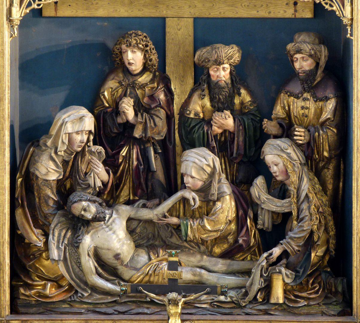 Peringsdörfer Altar Retabel, Mittelschrein