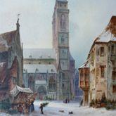 St. Sebald mit Moritzkapelle und Pfarrhof