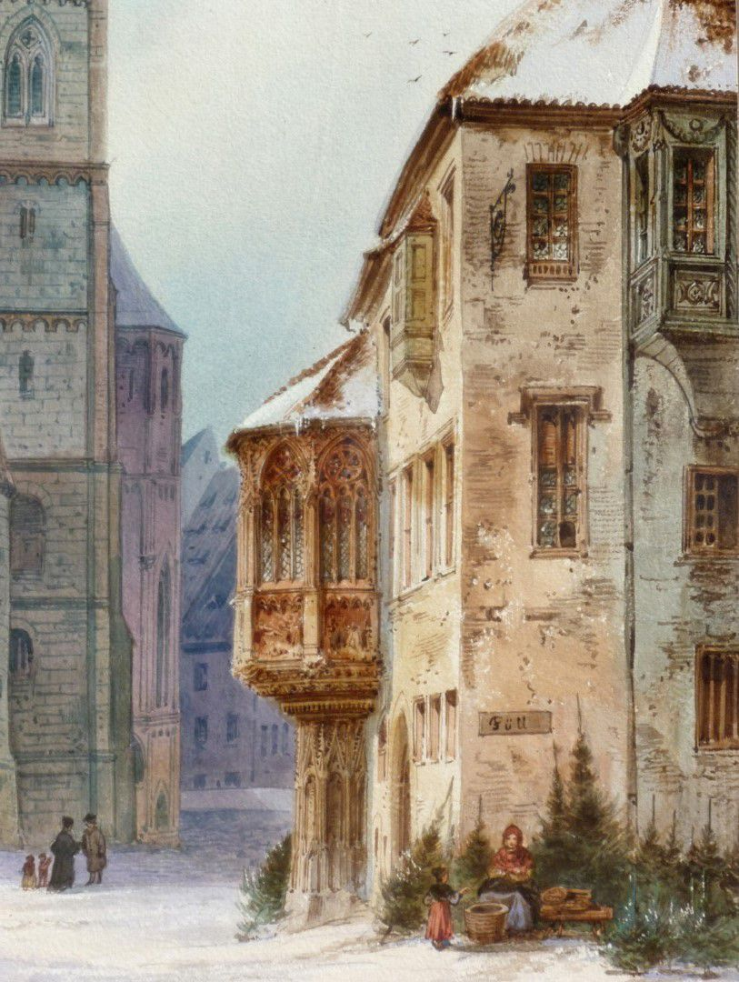 St. Sebald mit Moritzkapelle und Pfarrhof Sebalder Pfarrhof
