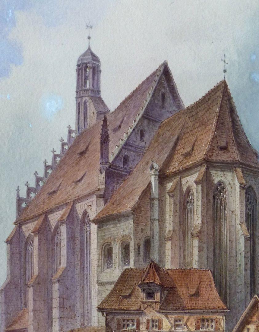Frauenkirche mit Obstmarkt Detail