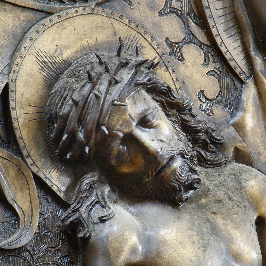 Johannes von Hürnheim und Albrecht von Rechenberg Das Haupt Christi