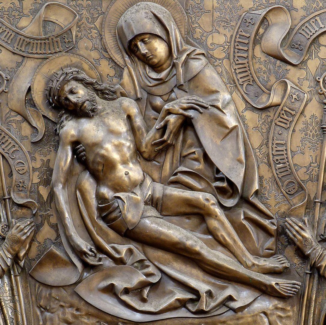 Johannes von Hürnheim und Albrecht von Rechenberg Beweinung Christi