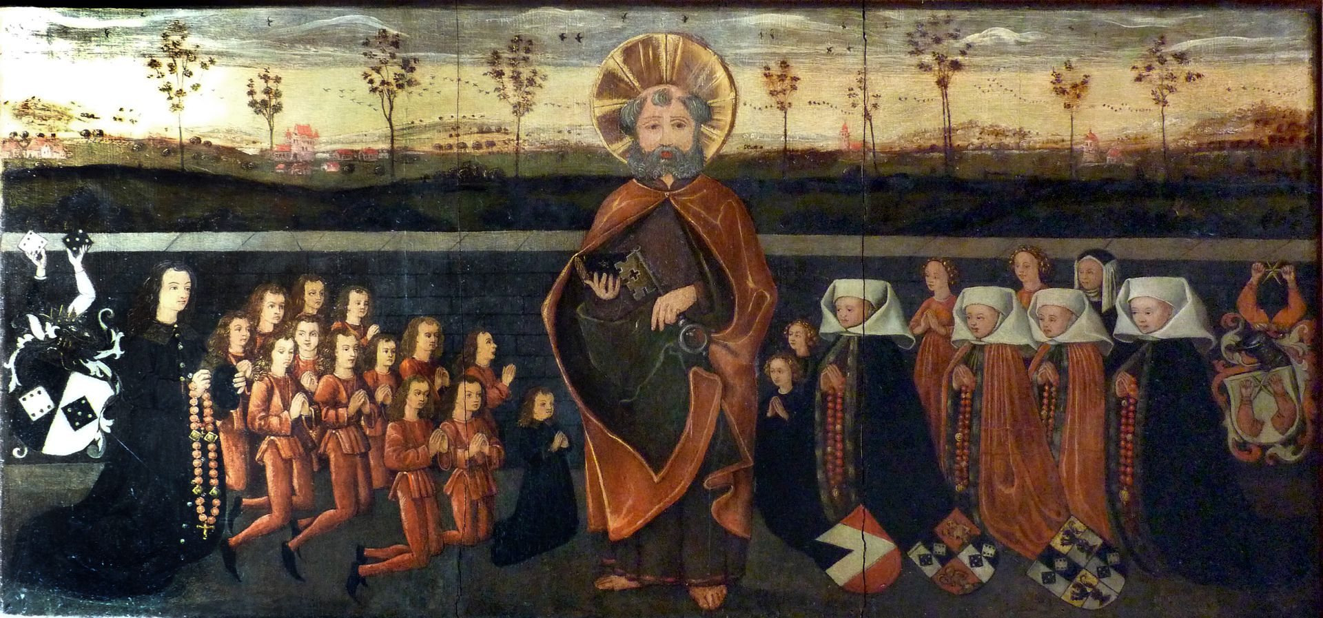 Petersaltar Antependium vor dem Stipes