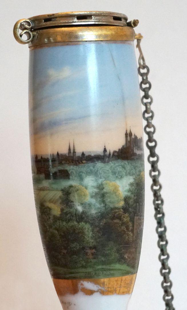 Pfeifenkopf mit Nürnberg-Ansicht von Nordosten