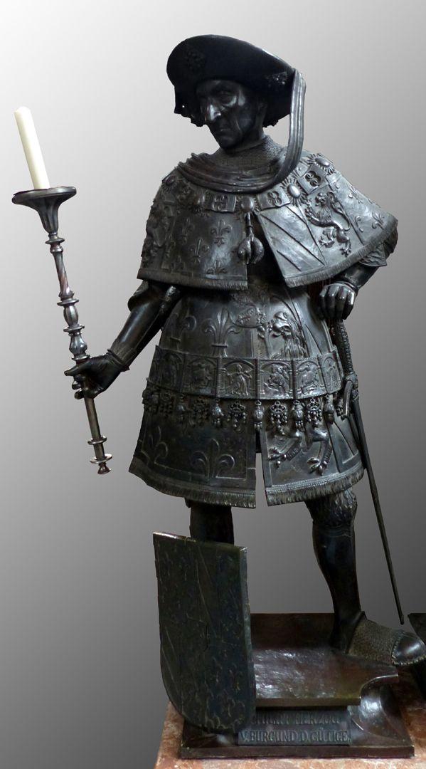 Philipp der Gute von Burgund (Innsbruck) Frontalansicht