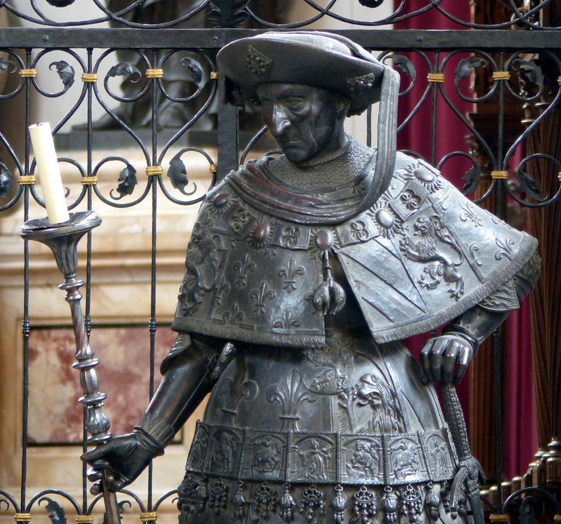 Philipp der Gute von Burgund (Innsbruck) Oberkörper