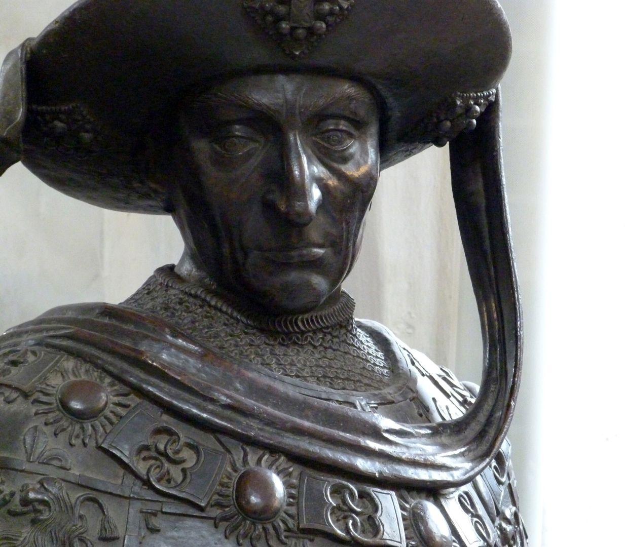 Philipp der Gute von Burgund (Innsbruck) Büste