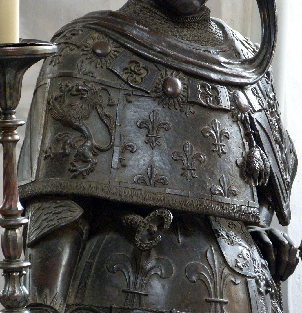 Philipp der Gute von Burgund (Innsbruck) linke Hälfte der Stola