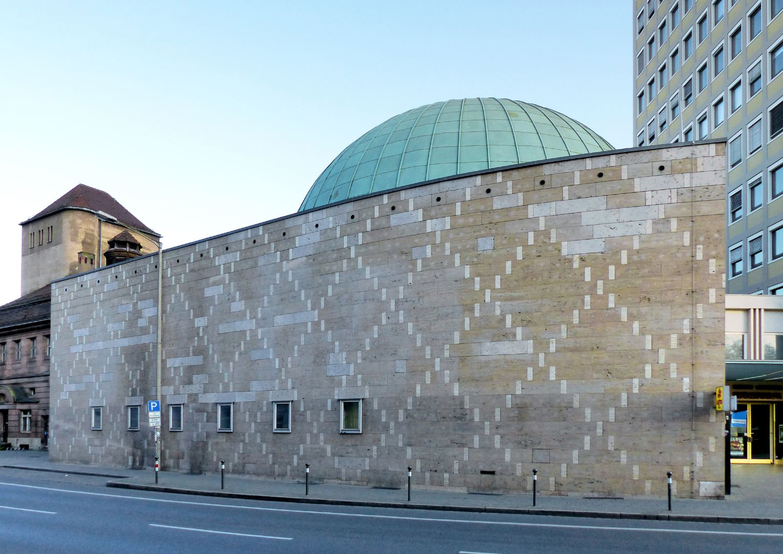 Nicolaus-Copernicus-Planetarium Fassade, Rothenburger Straße