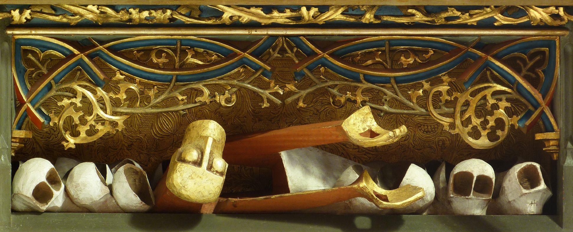 """""""... auferstanden von den Toten"""" Predella"""