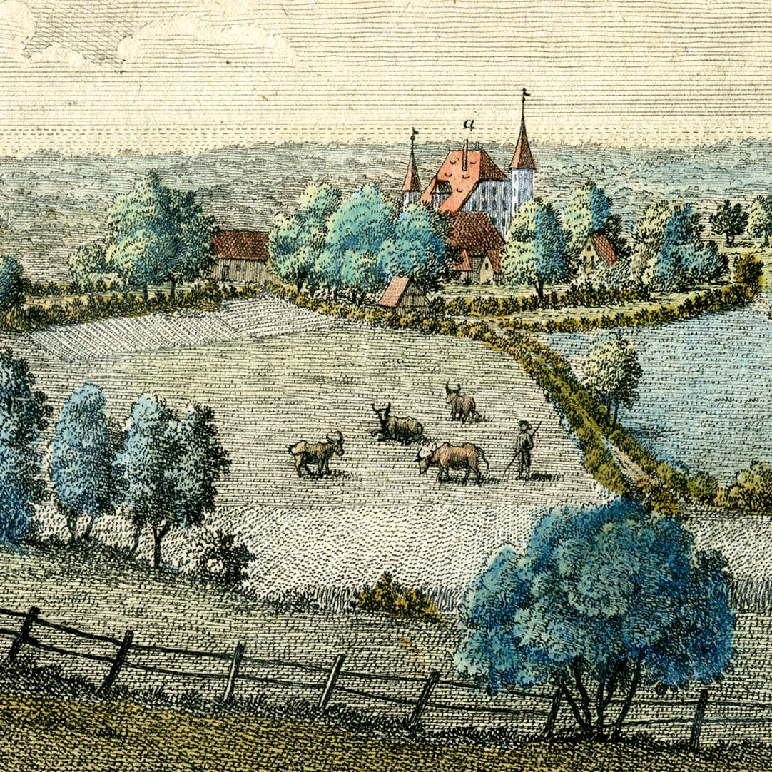 Prospect von Haymendorf Schloß
