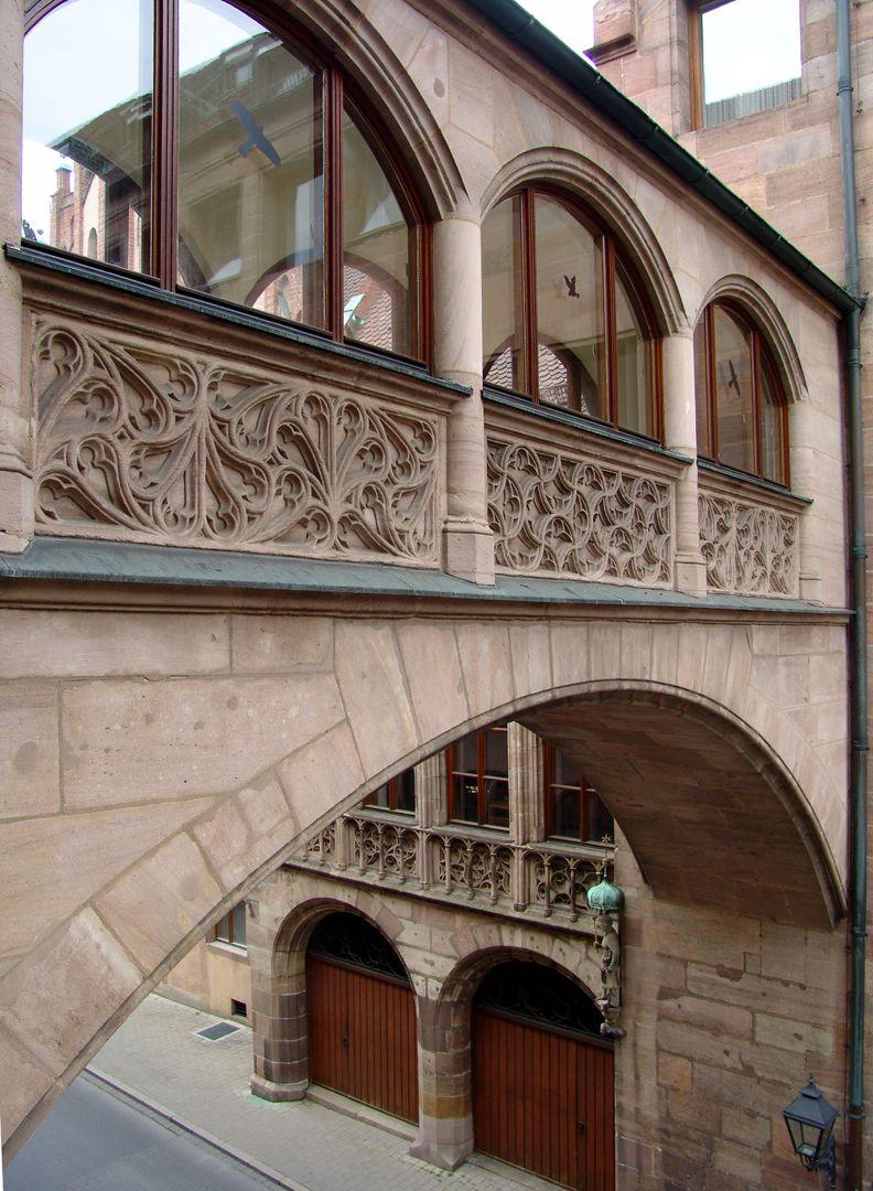 Hauptverwaltungsamt Verbindungsbrücke zum Alten Rathaus