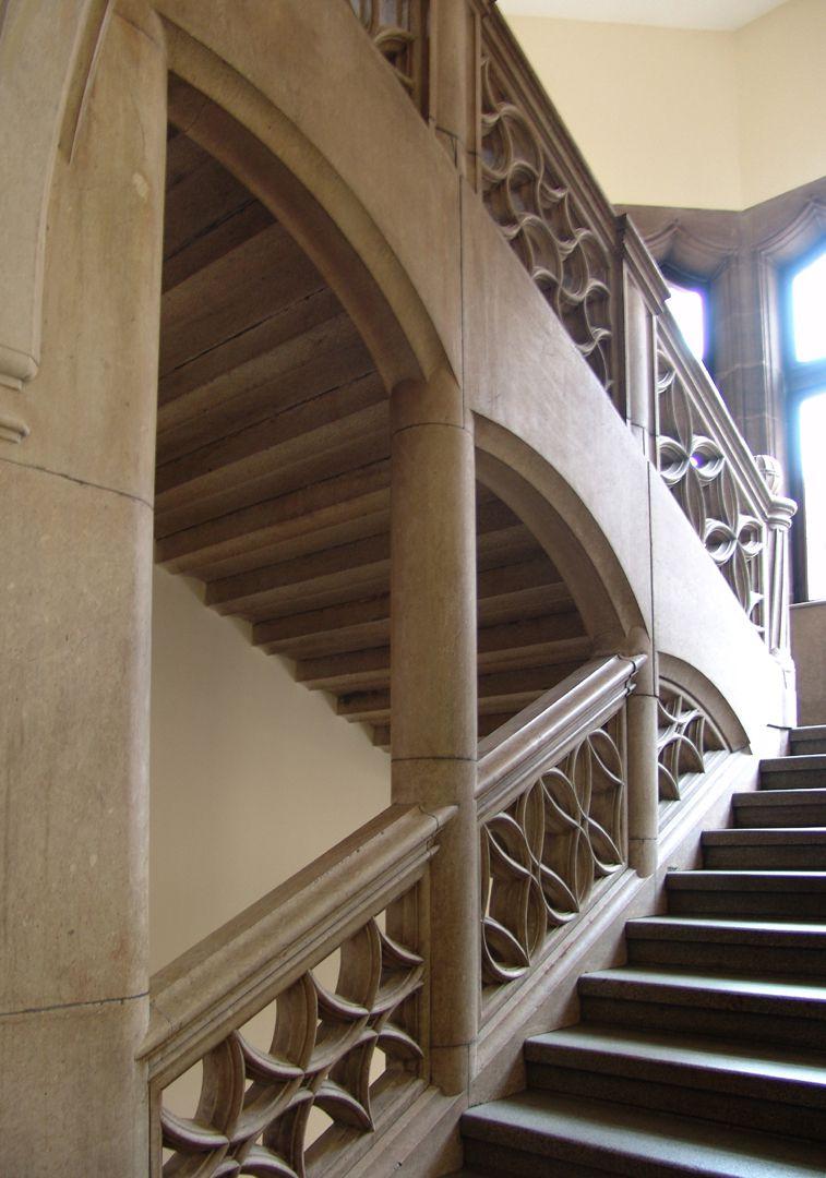 Hauptverwaltungsamt Treppenhaus