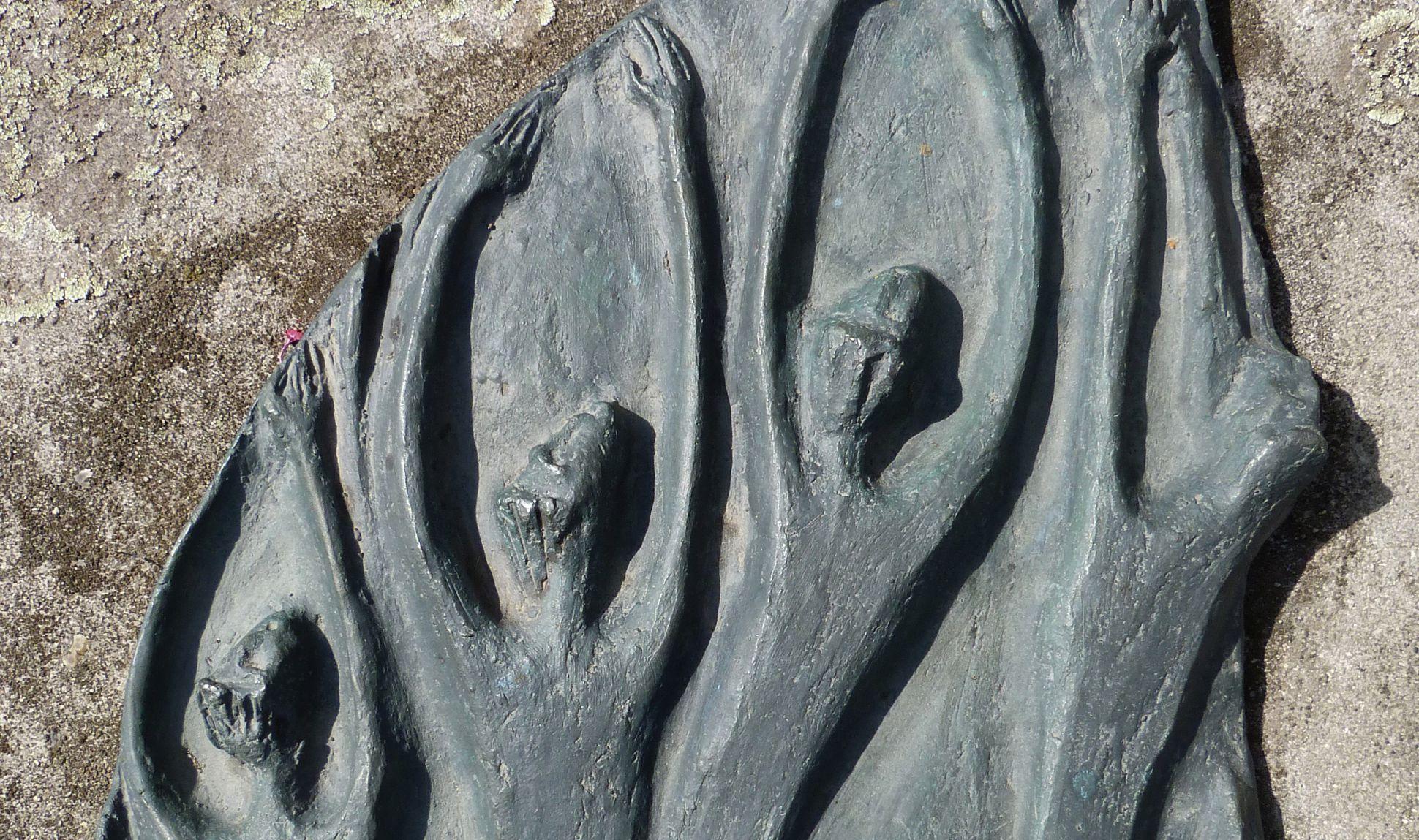 """""""Auferstehung"""" Ansicht von oben, Detail"""