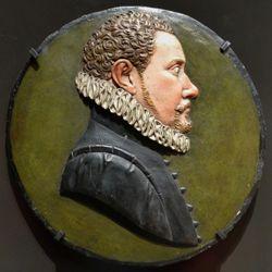 Relieftondo mit dem Portrait eines unbekannten jungen Nürnbergers