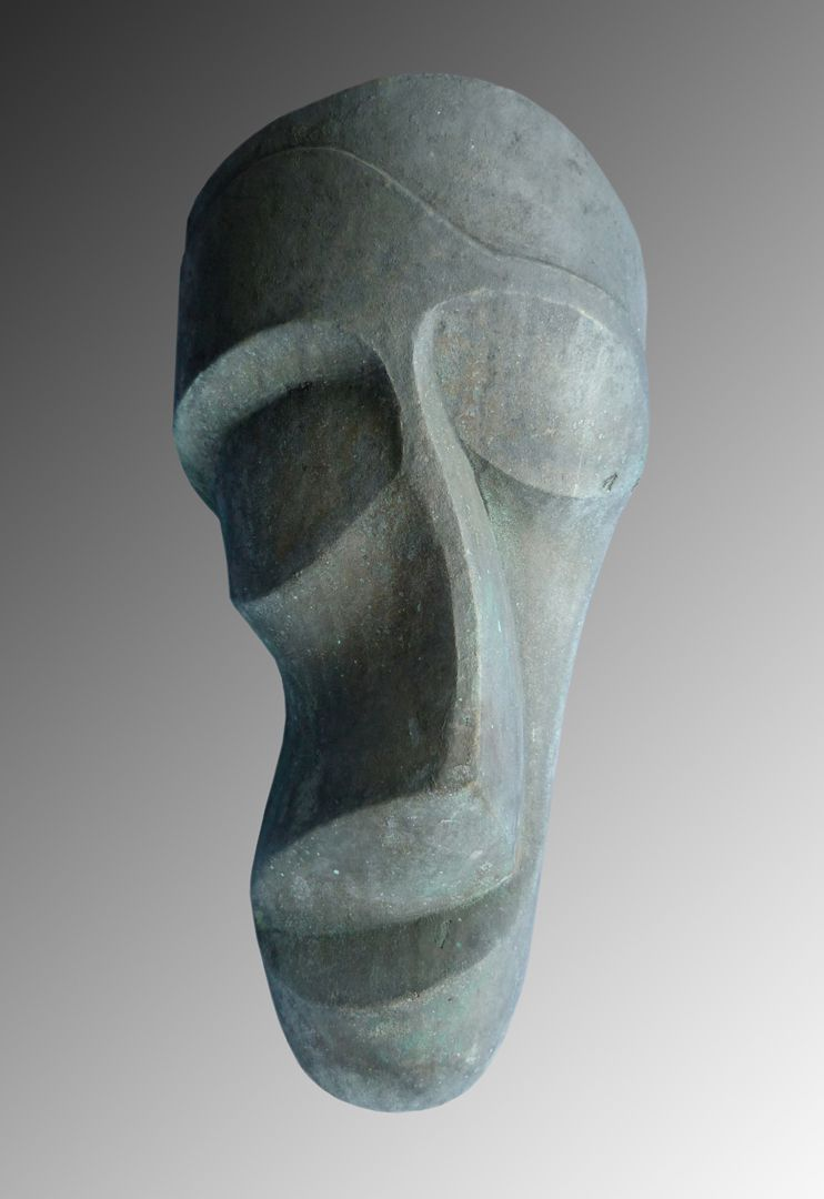 Abstrahierte Maske