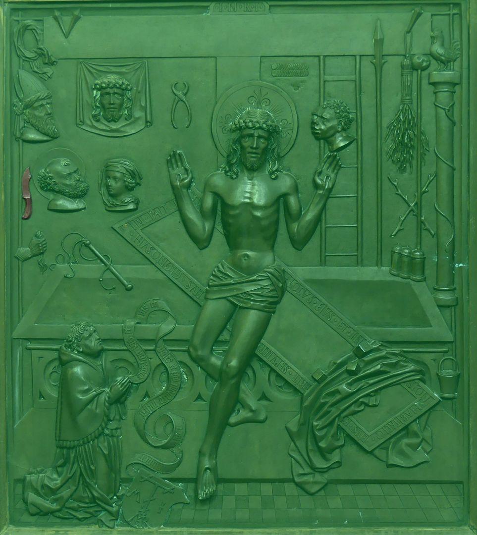 Ulrich Rispach Messer des Petrus (mit dem er Malchus bei der Gefangenahme Christi am Ölberg ein Ohr abschnitt)