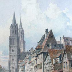 Königstraße mit Lorenzkirche