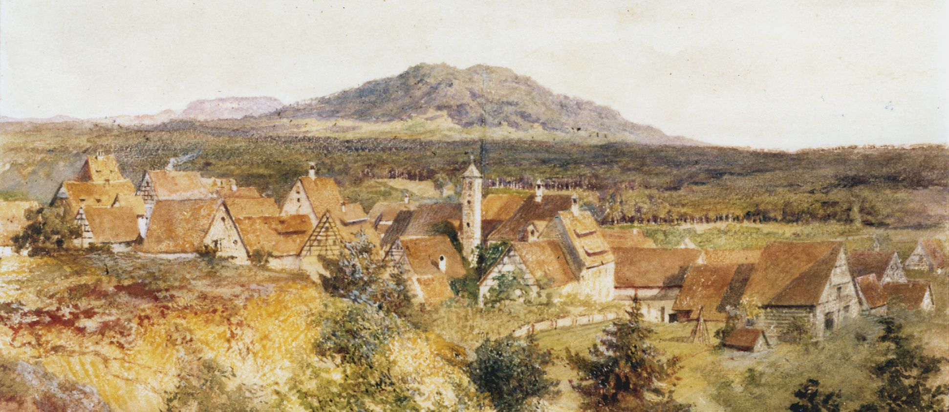 Rückersdorf mit Moritzberg obere Bildhälfte